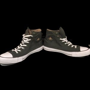 Olive green all star chuck Taylor high top